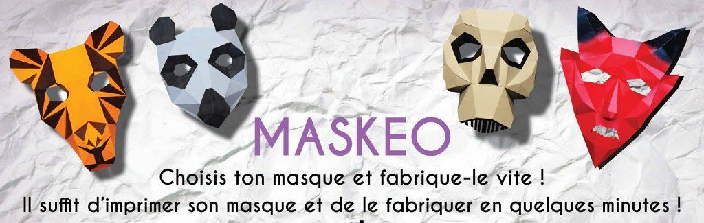 masque à imprimer en pdf