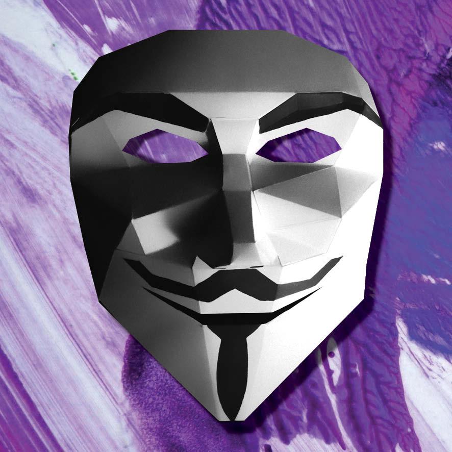 masque anonymous 3d imprimer et fabriquer soi m me. Black Bedroom Furniture Sets. Home Design Ideas