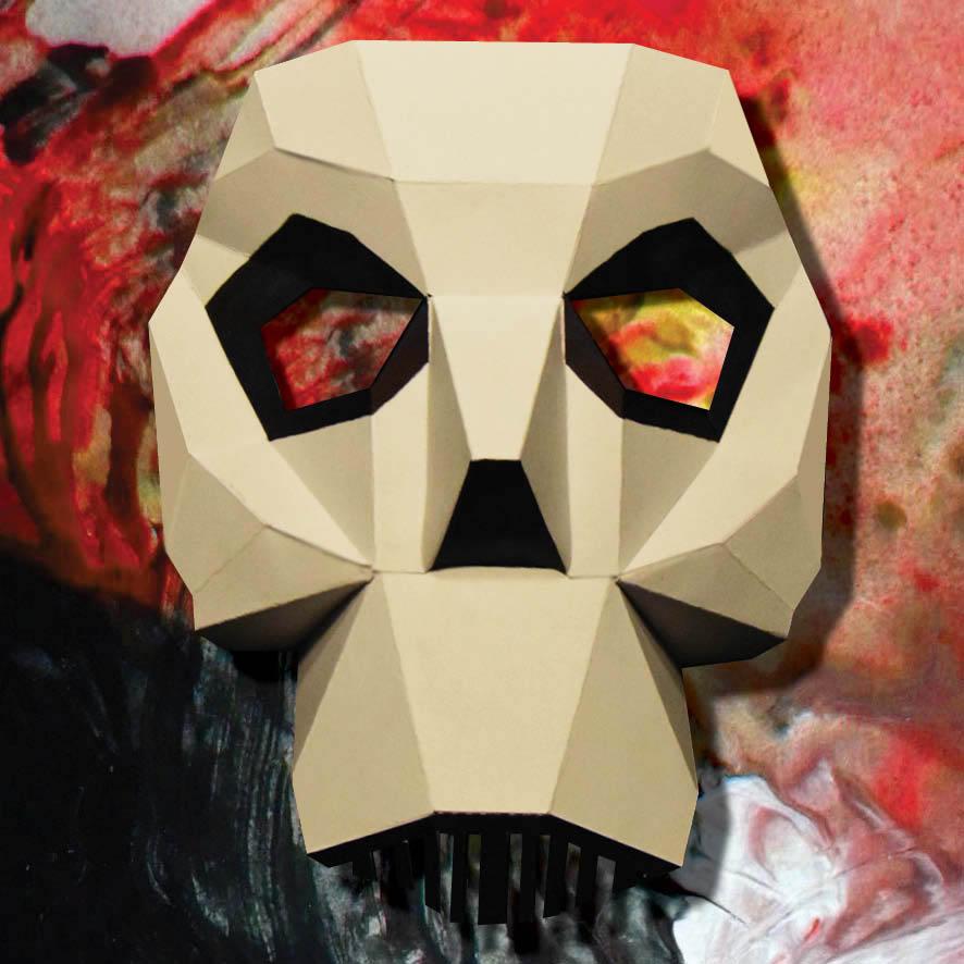 Masque de démon 3D