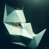 Masque de rhinocéros 3D