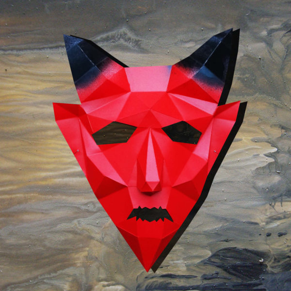 Masque de diable 3D