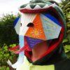 Masque d'éléphanteau 3D