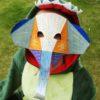 Masque éléphanteau 3D