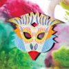 Masque d'aigle 3D
