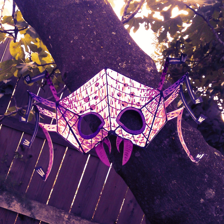 Masque d'araignée 3D