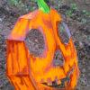 Masque de citrouille 3D