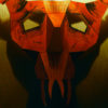 Masque de l'esprit du mal 3D