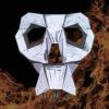 Masque de squelette 3D
