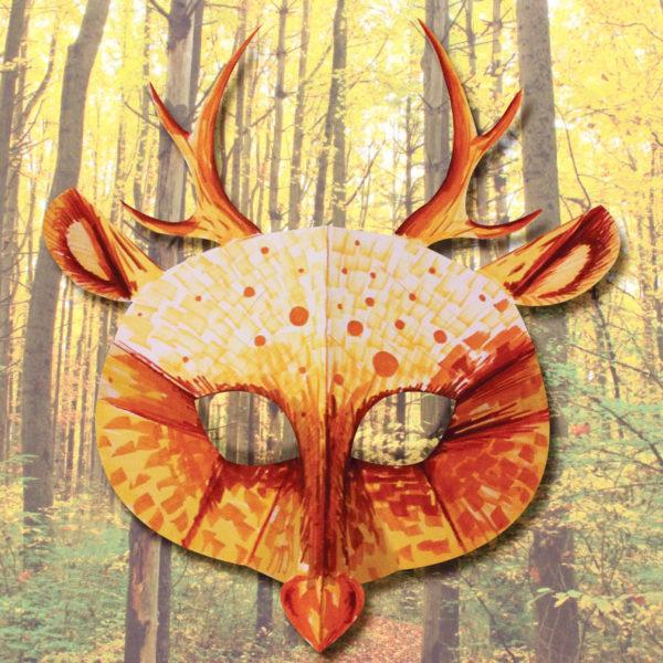 Masque de cerf 3D