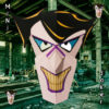 Masque du mini Joker 3D