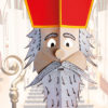 Masque de Saint Nicolas 3D