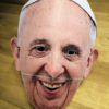photo masque 3d pape francois terminé
